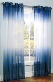 Blue Sheer Curtain White And Blue Sheer Curtains Ideas Lustwithalaugh Design Blue