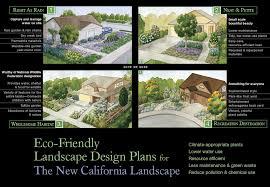 new ca landscape home