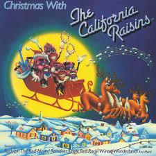 california photo album christmas with the california raisins by california raisins on