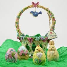 jim shore easter baskets jim shore figurine basketful of surprises heartwood creek
