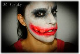 Joker Halloween Make Up