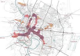 Urban Map Urbane Verdichtungen Bangkok Urbanalyse