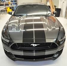 Black Mustang Stripes Racing Skins Silver Mustang U2013 Black G2g Racing Stripes With