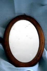 Wood Mirror Frame Tongue In Cheek Antiques French Antique Traveling Mirror Sold