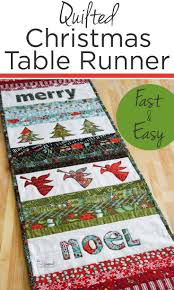 quilted christmas table runner christmas quilting quilting
