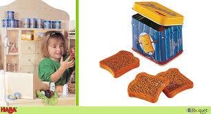 cuisine haba boîte de biscotte haba dînettes ustensiles de cuisine cuisine