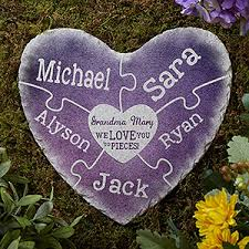 personalized garden stones personalized garden stones together we make a family
