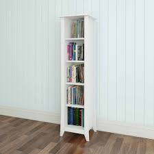 Sauder Five Shelf Bookcase by Vice Versa 5 Shelf Bookcase White Walmart Com