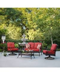 Patio Conversation Sets On Sale Fall Sale Better Homes And Gardens Providence 4 Piece Patio