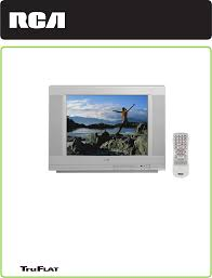 rca home theater tv rca crt television 20f511t user guide manualsonline com