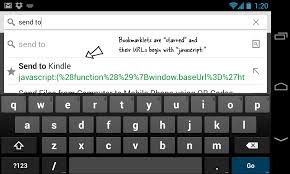 use bookmarklets in chrome for mobile