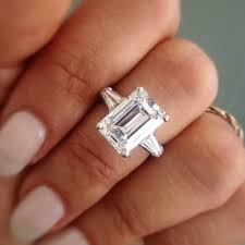 emerald cut engagement rings 2 carat fascinating emerald shape engagement rings 81 with additional new