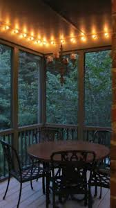 front porch lighting ideas screened porch makeover for less than 500 porch makeover