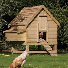 Backyard Chicken Coup by Log Cabin Chic Rowlinson Large Chicken Coop Hen House Fsc Timber