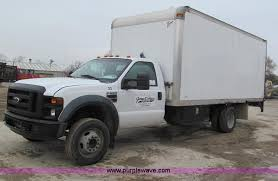 ford f550 truck for sale 2008 ford f550 xl duty box truck item e2818 sold