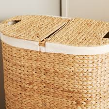 double laundry hamper with lid furniture wicker laundry hamper sterilite laundry basket grey