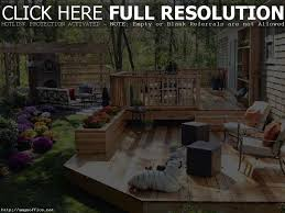 Deck And Patio Ideas For Small Backyards by Deck Ideas For Small Backyards Home Design Ideas