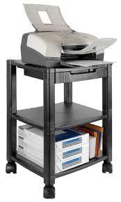 Computer And Printer Desk Amazon Kantek Shelf Desk Side Mobile Printer Stand With Office