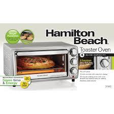 Toaster Oven Settings Hamilton Beach Toaster Oven 31143