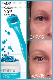 before and after rodan and fields amp md roller and redefine night