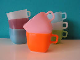 Retro Kitchen Accessories by Vintage Opale France Soup Square Mugs Bowl Cups Opal Opaline Pyrex