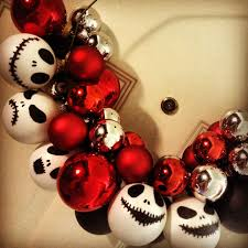diy skellington from the nightmare before wreath i