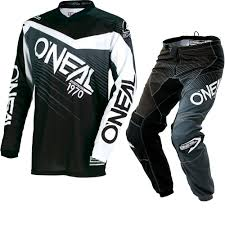 youth motocross jerseys oneal element 2018 racewear youth motocross jersey u0026 pants black