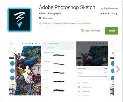 adobe mobile android apps now include photoshop fix sketch and comp