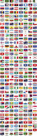 World Flag 18 Flag Banner Vector Images Free Vector Banner Flags Flag