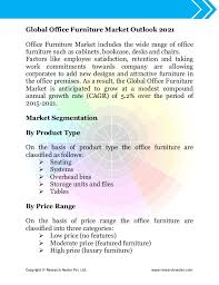 Global Office Chairs Office Furniture Market Size Demand U0026 Global Opportunity Analysis O U2026