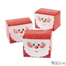 christmas boxes 12 cardboard santa gift boxes christmas treat boxes