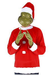grinch costume grinch costume top hat and half mask
