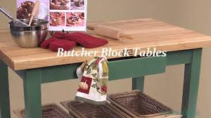 butcher block tables islands u0026 carts butcher block co youtube