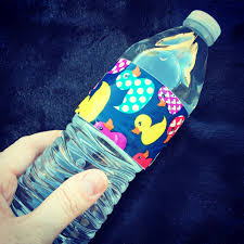baby shower series dressing up your water bottles bottle