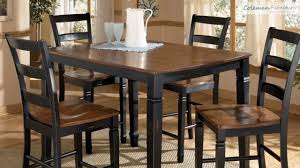 cedar dining room table cedar heights dining room collection from signature design by
