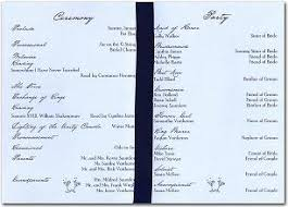 wedding program layouts all about wedding program layouts