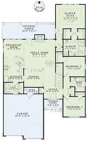 narrow house plans with garage home for sure can t go with a 5 car garage and 2 bed