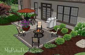 Simple Outdoor Patio - Simple backyard patio designs