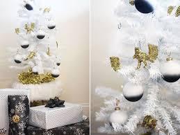 my diy black white tree