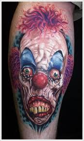 best 25 scary tattoos ideas on pinterest clown tattoo eyeball