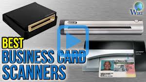 Cardscan Personal Business Card Scanner V9 Top 10 Business Card Scanners Of 2017 Video Review