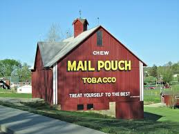 Barn Murals Beans And I On The Loose Monday Mural Mail Pouch