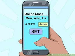 online class how to study for an online class 12 steps with pictures