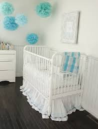 Simple Nursery Decor Simple And Cozy Crib Model Of White Themed Baby Nursery Room Design Jpg