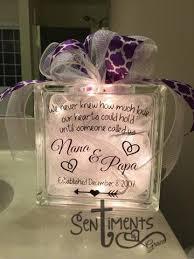 Wedding Memorial Custom Glass Block Wedding Memorial Holidays Quotes Teacher