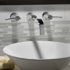 wall mount vessel sink faucets wall hung faucet for break room datalogic pinterest widespread