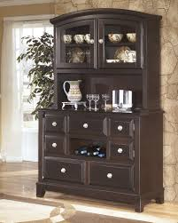 ridgley brown contemporary dark style finish dining room buffet
