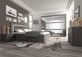chambre avec lit noir chambre adulte contemporaine chêne noir elys chambre adulte
