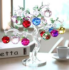 glass apple tree for gift and