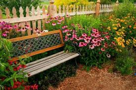 Landscape Timber Bench 33 Wooden Benches Complimenting Garden Design And Backyard Landscaping